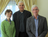 A photo from our visit with Fr. Wojciech Giertych, the Papal Theologian